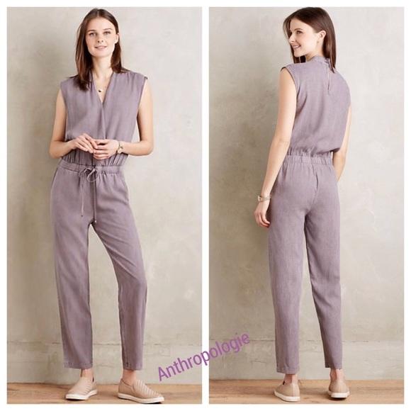 02f94cea9f2 Anthropologie Pants - 👗🌸Anthropologie Stone Mignon jumpsuit ❤️